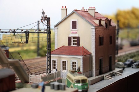La gare de Mâlain