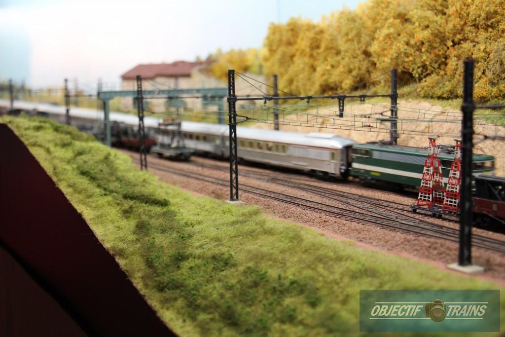 Trains de voyageurs entre Paris et Dijon