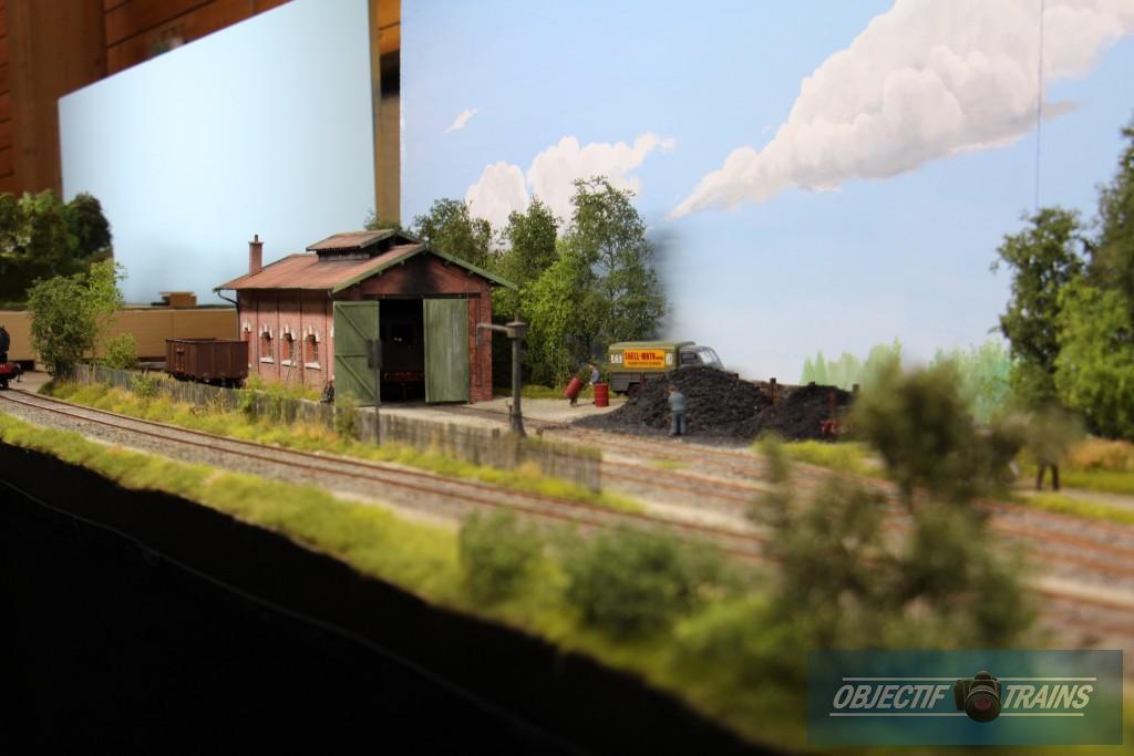 Remise vapeur à Montcornet