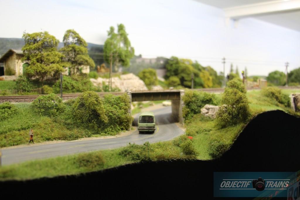Passage routier sous voies.