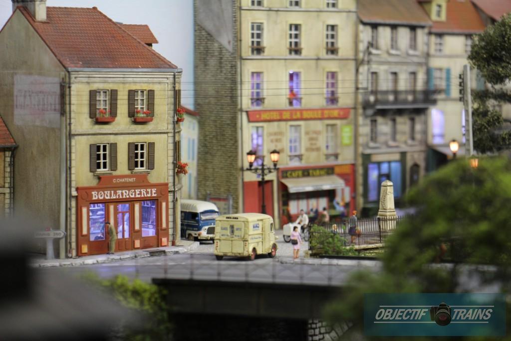Les rues de la ville.