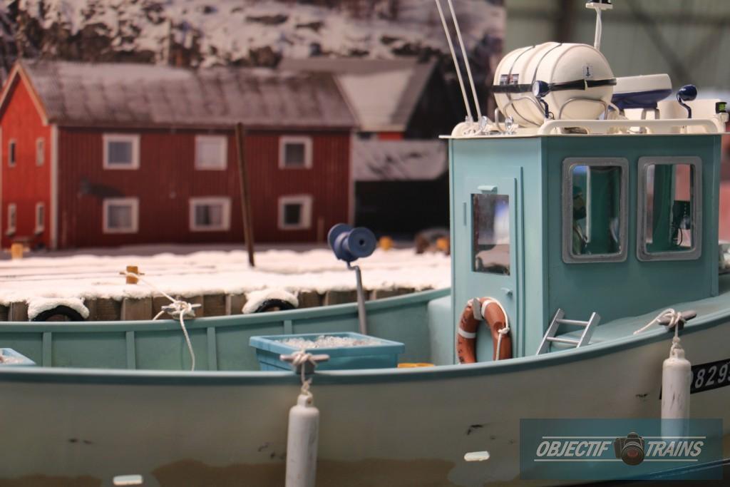 Le bateau du patron pêcheur.