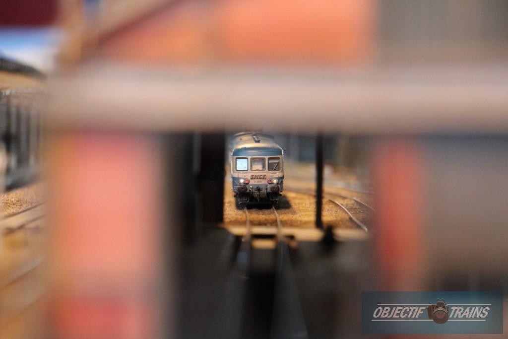 X2800 en gare d'Aurillac.
