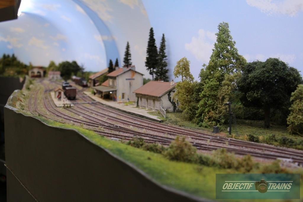 L'Hopital du Gros Bois... La gare en Franche Comté