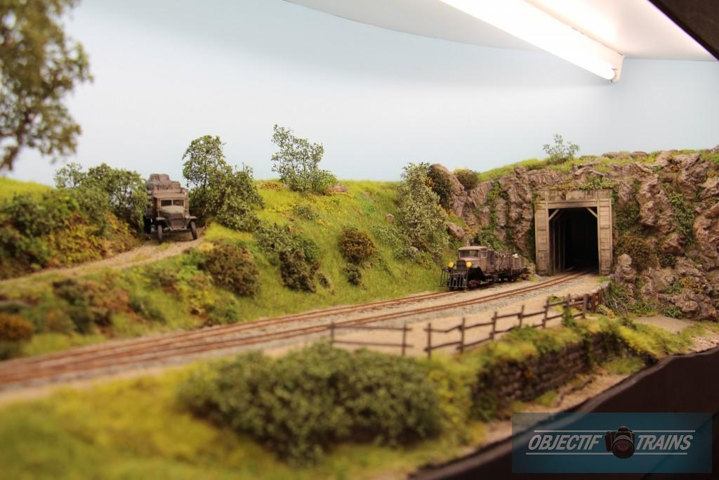 Tunnel et sa voie