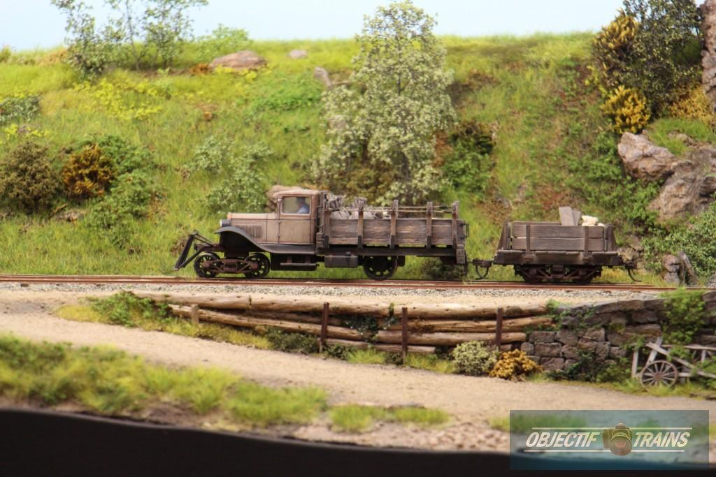 Tracteur voie ferrée