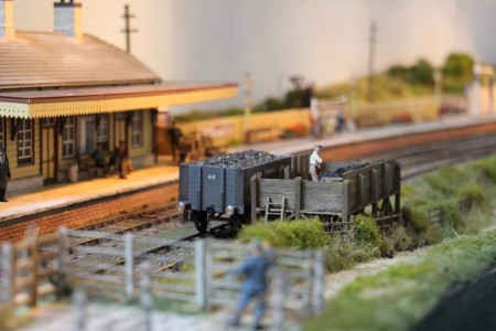 Déchargement de charbon