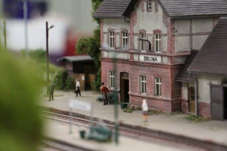 La gare de Zielona