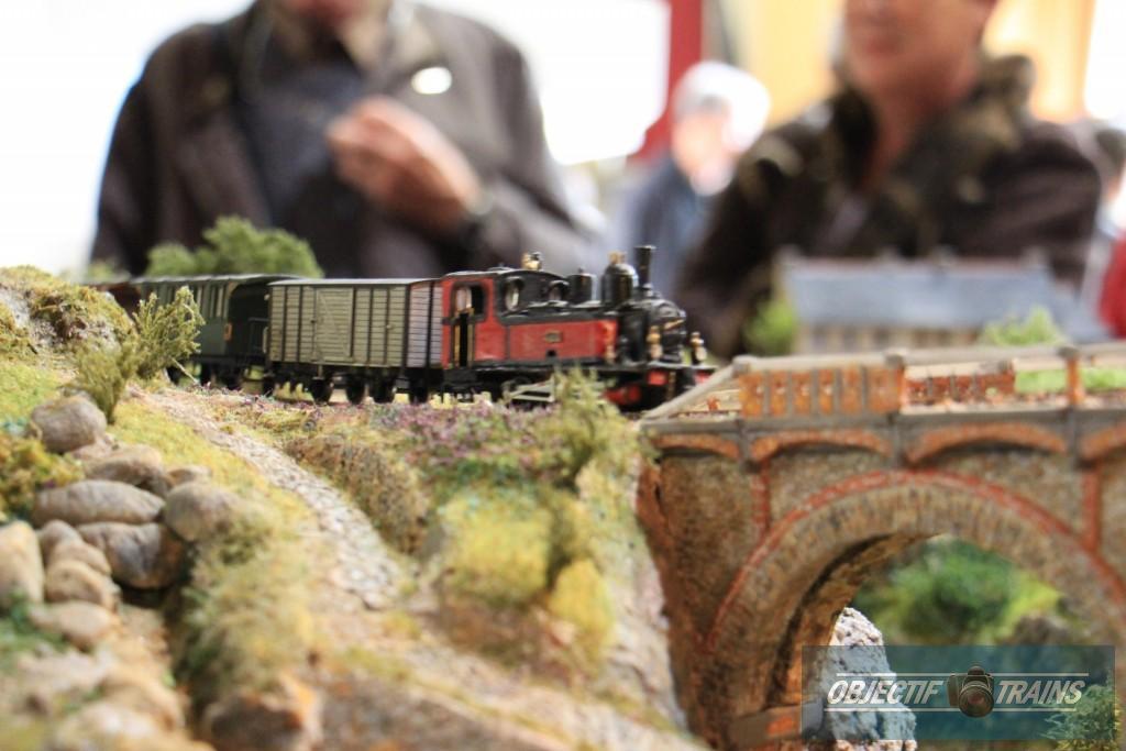 Train à vapeur en Bretagne.