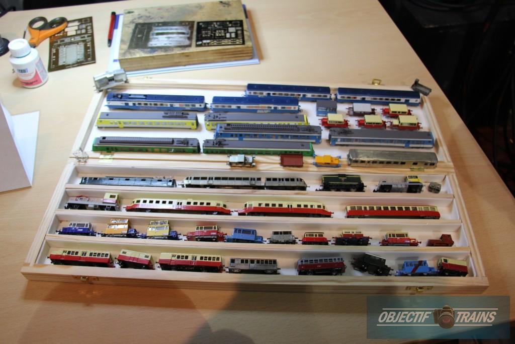 Collection de modèles laiton en N fabriqués par Philippe Phulpin