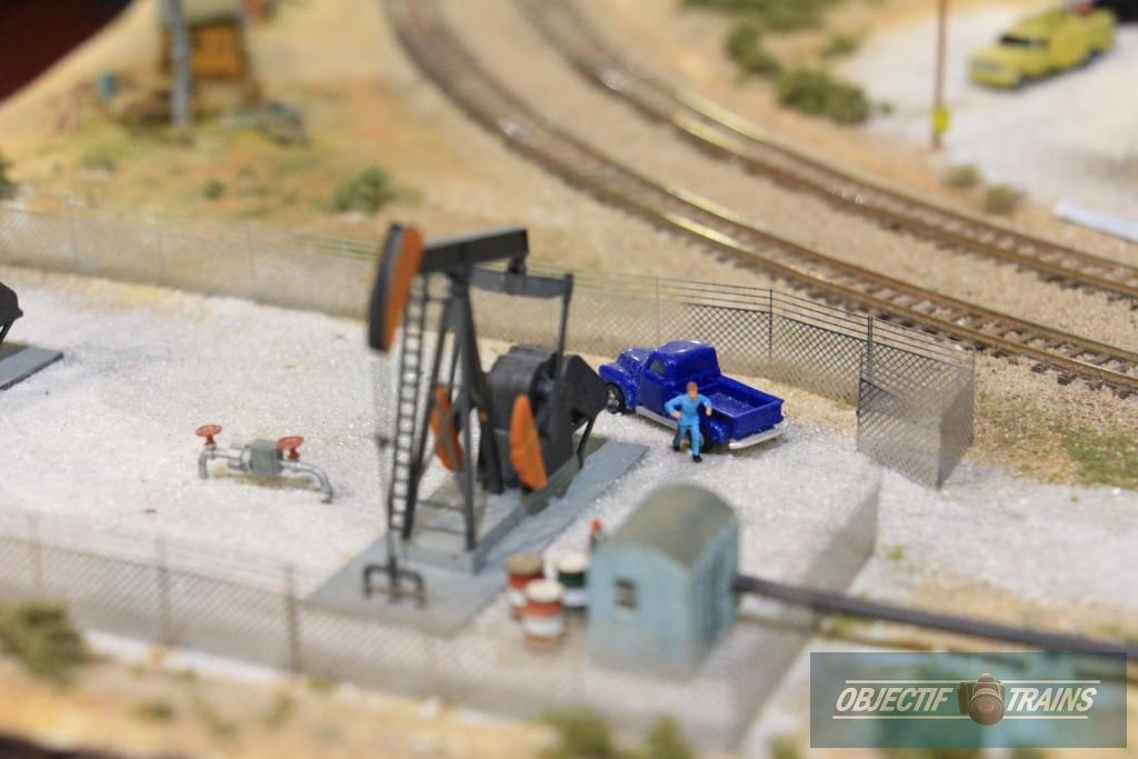 Puit de pétrole.