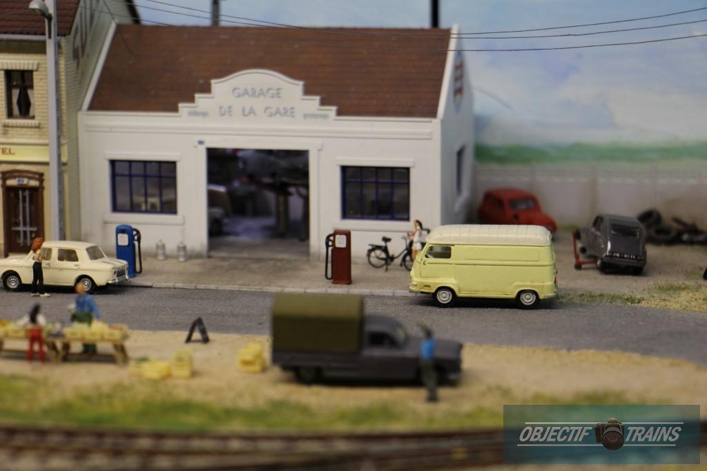Le garage et son estafette