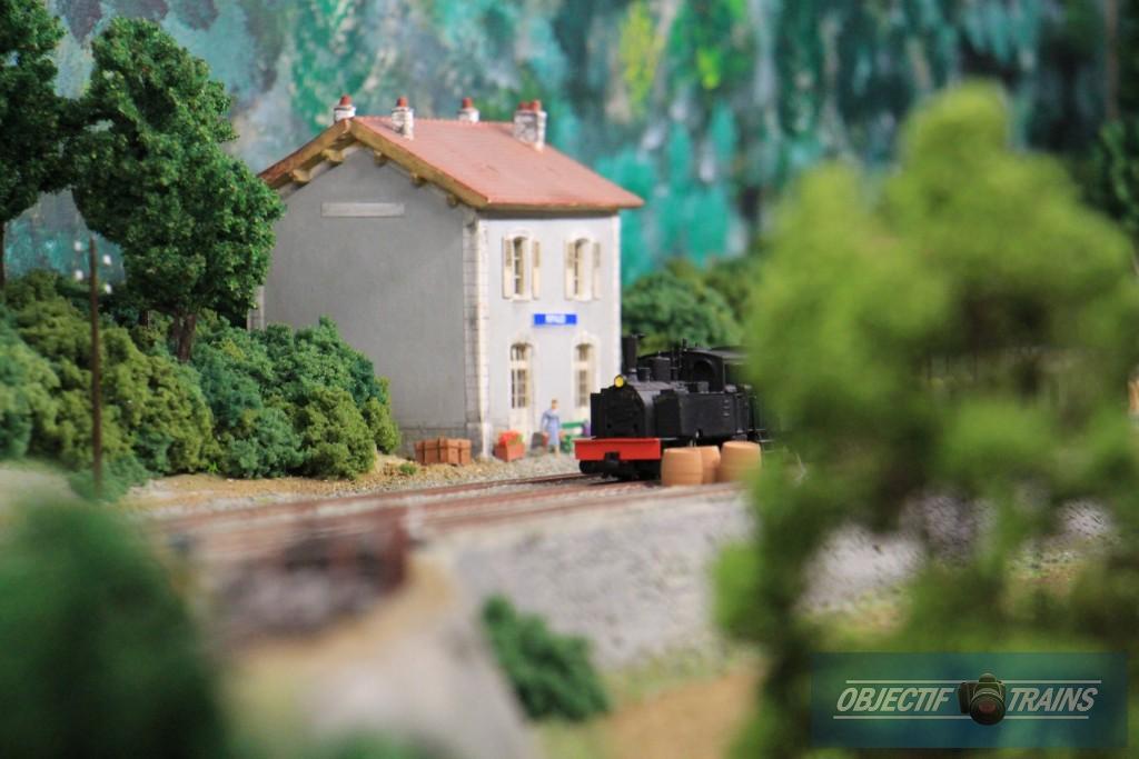 Les tramways de l'Aude la gare de Ripaud