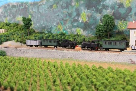 Croisement de convois.