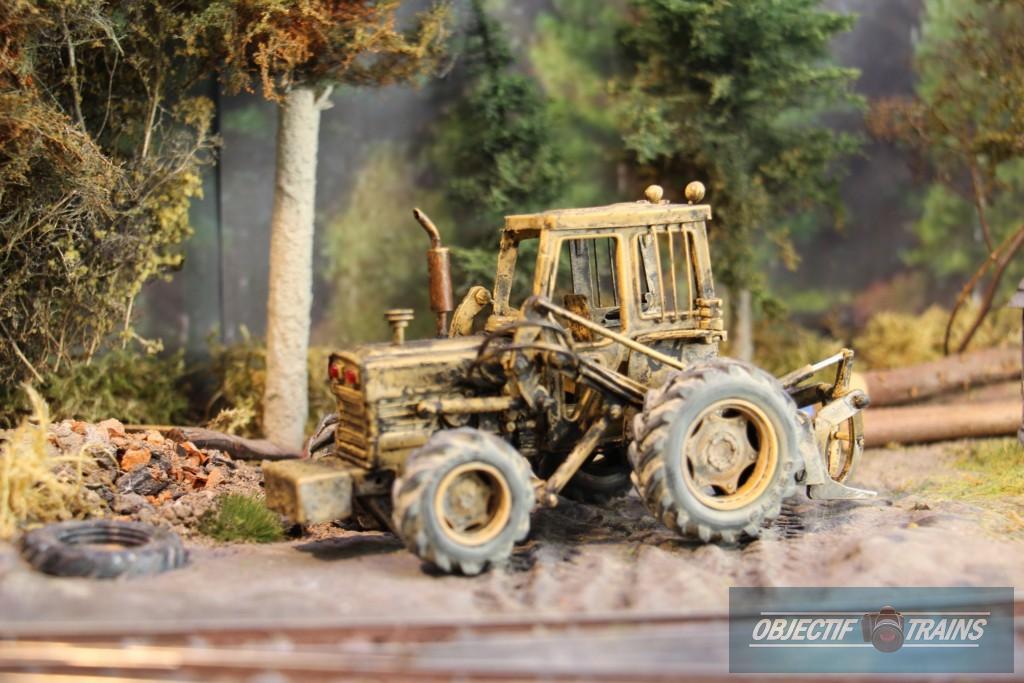 Tracteur des bois