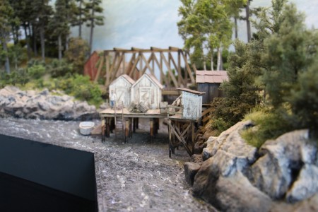 Les cabanes de pêcheur.