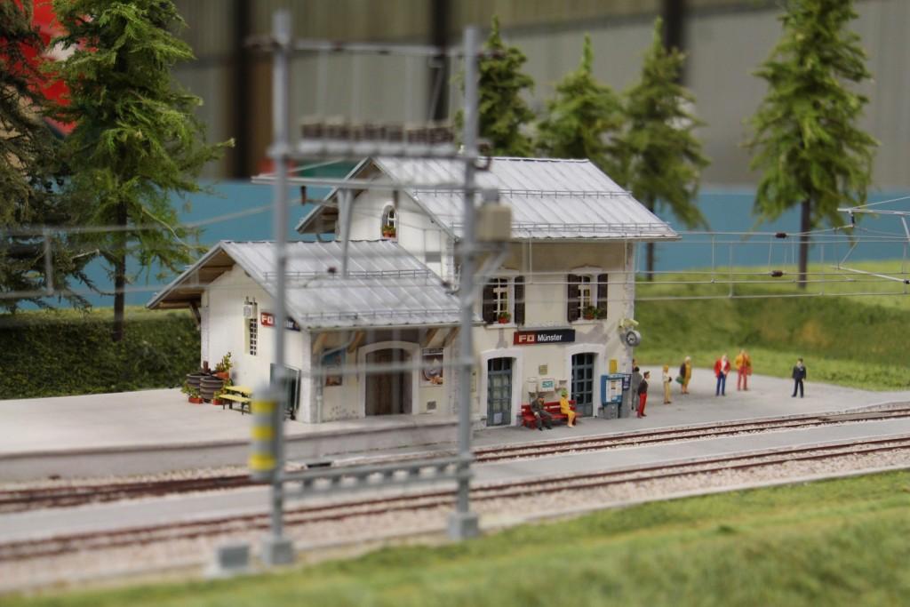 La gare Suisse