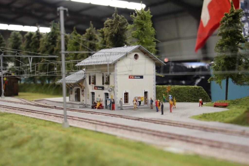 La gare du glacier express
