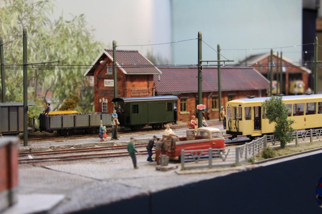Arrivée du tramway.