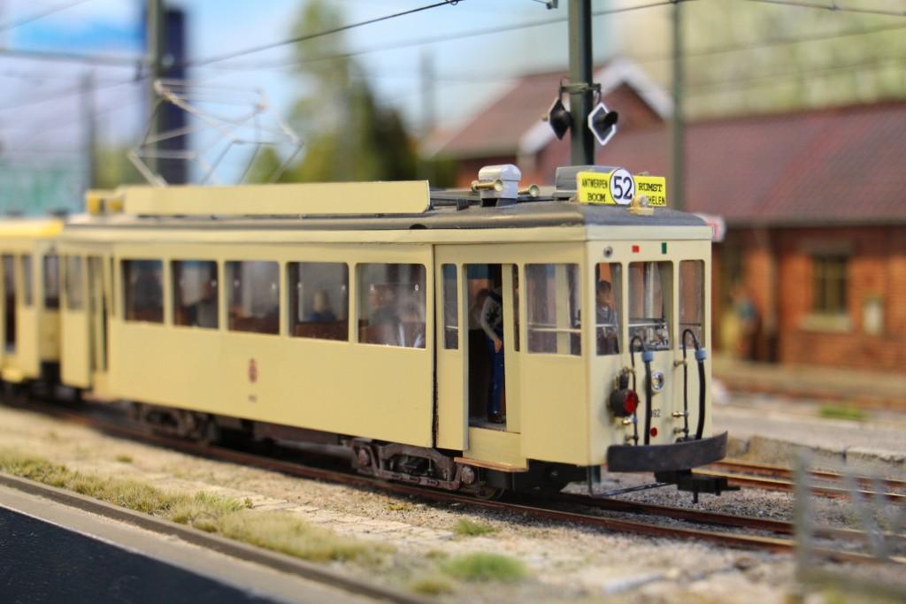 Gros plan sur le tramway