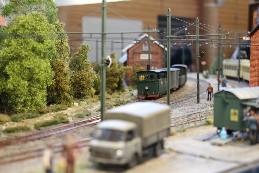 Passage d'une loco vapeur