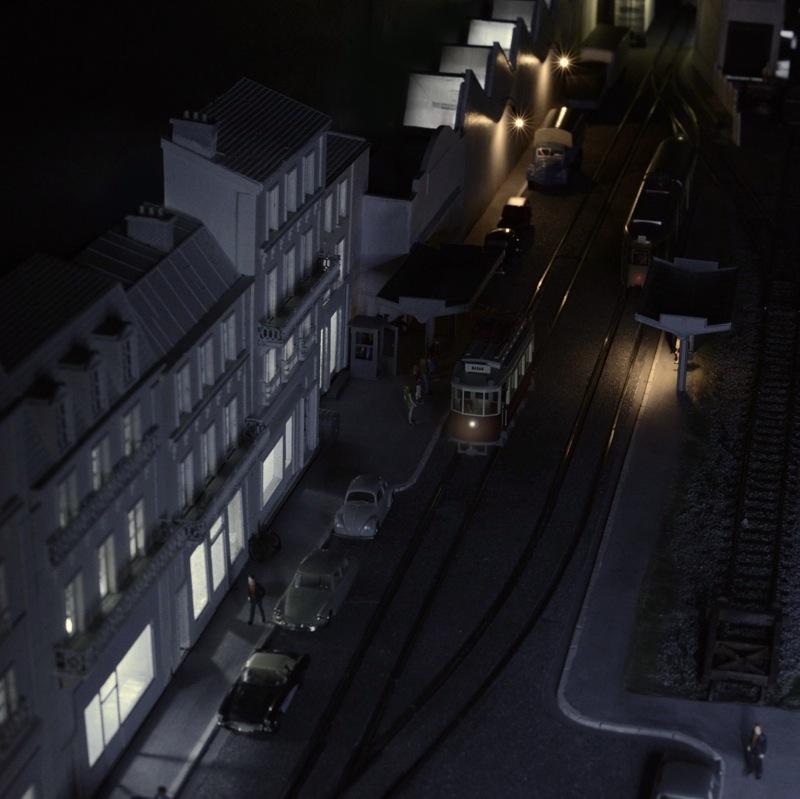 Ambiance de nuit.