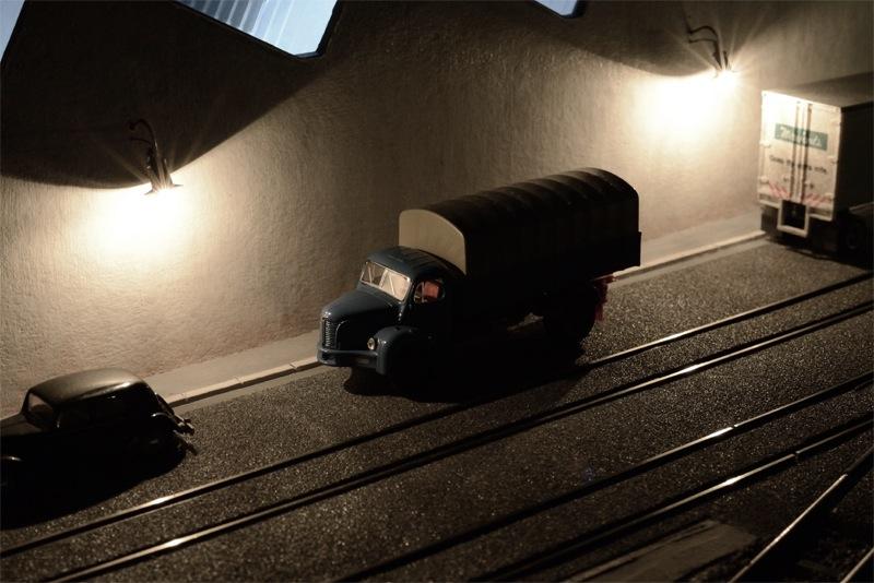 Berliet dans la nuit