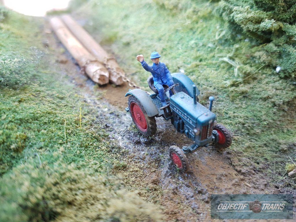 Tracteur Raoul Lagrume.