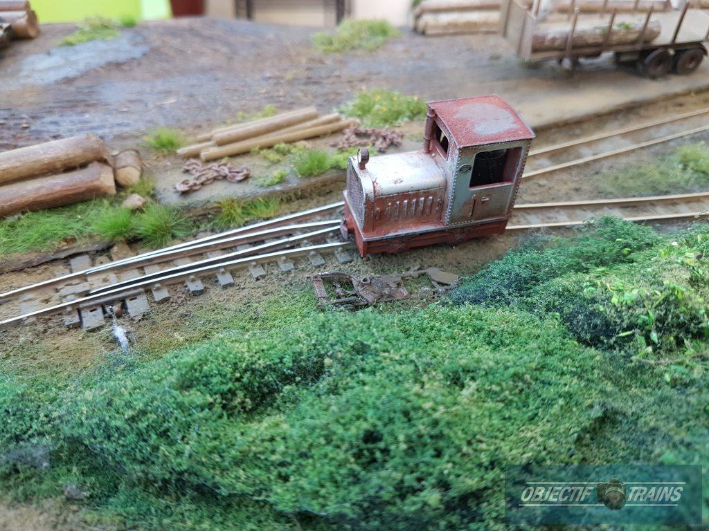 Le locotracteur !