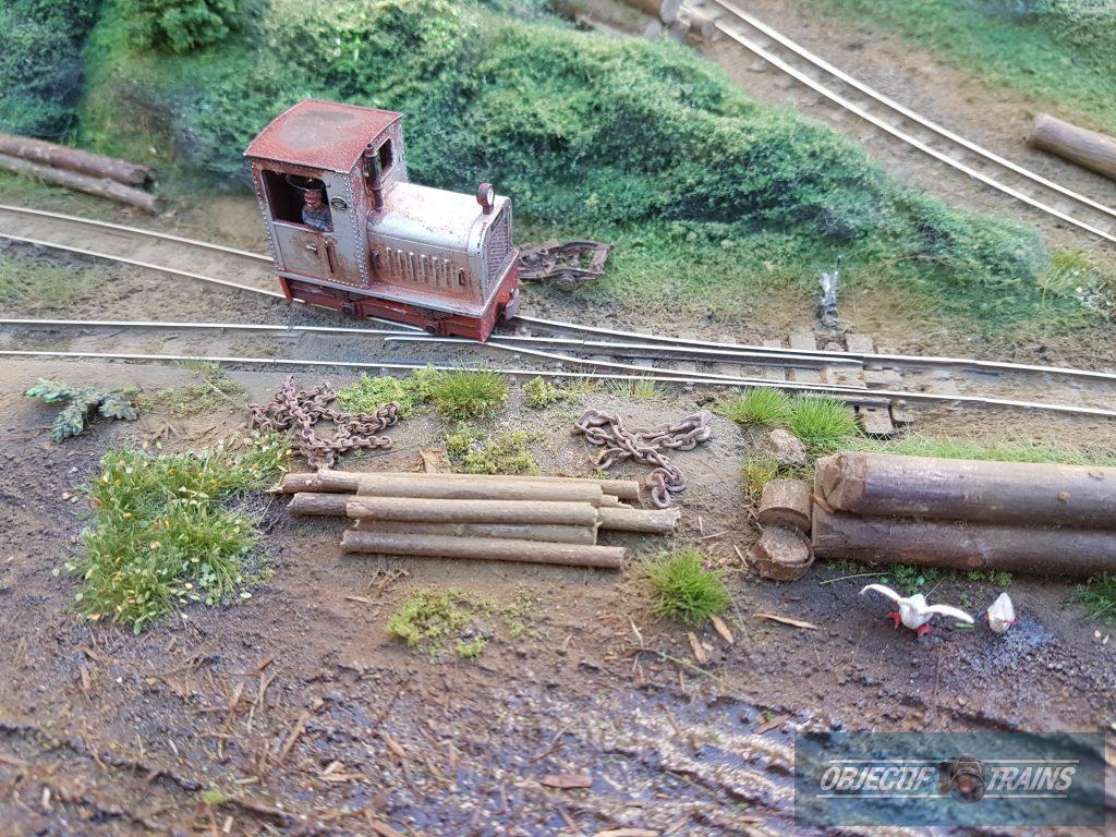 Le locotracteur Raoul Lagrume