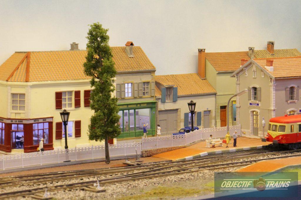 Vue générale de la gare de Tassay.