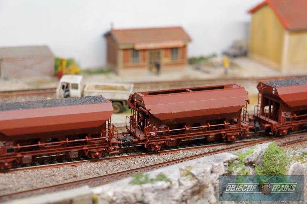 Wagons ballast.