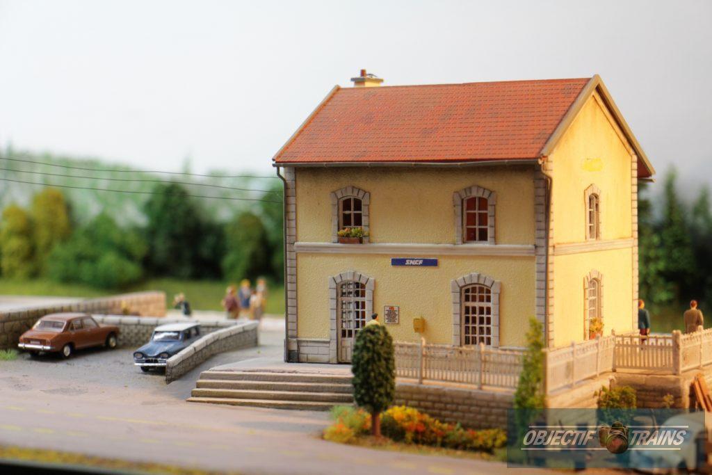 Bâtiment voyageurs SNCF.