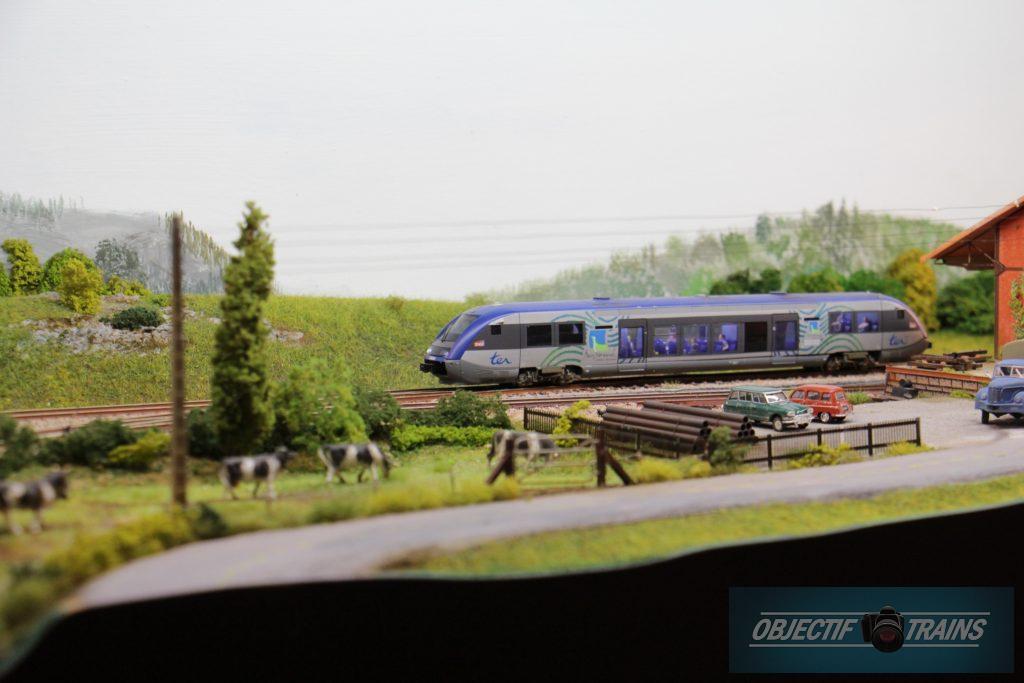 TER sur la ligne Caen Flers.