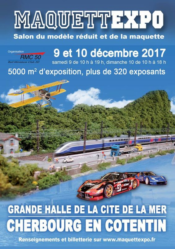 Affiche expo Cherbourg 2017