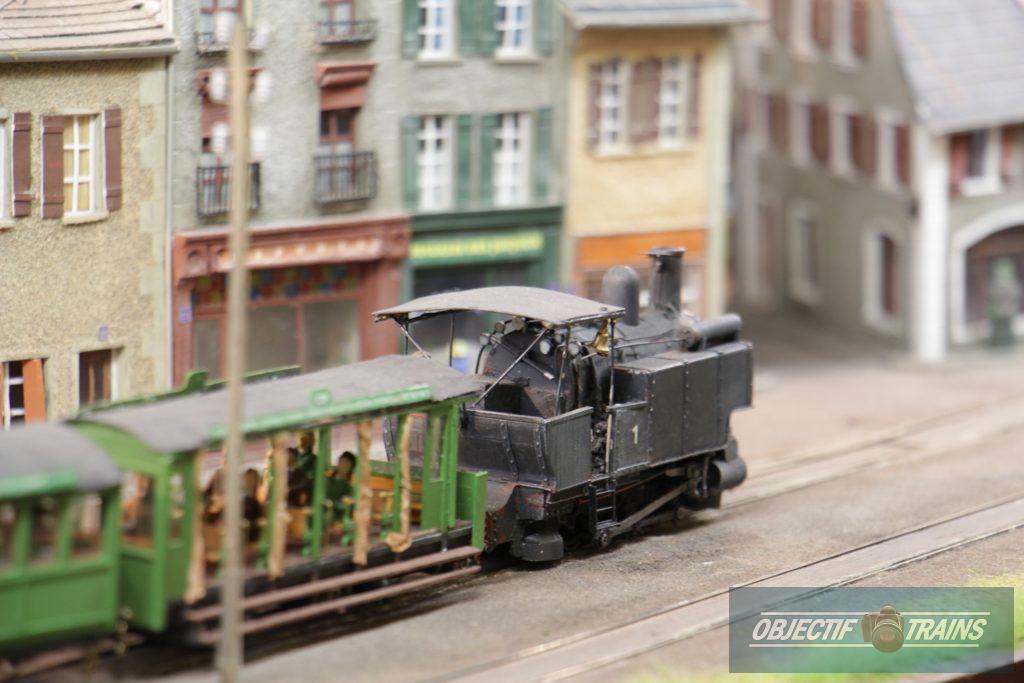 La baraque d'Hans Louvet - Loco vapeur