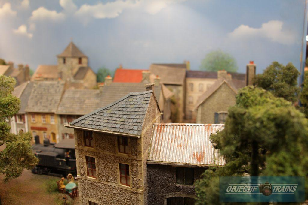 Les toits de la ville.