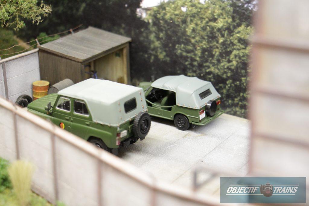 Le réseau DDR de l'escadrille St Michel - Vieux véhicules de l'armée.