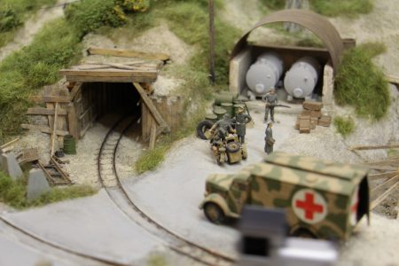 Entrée du tunnel.