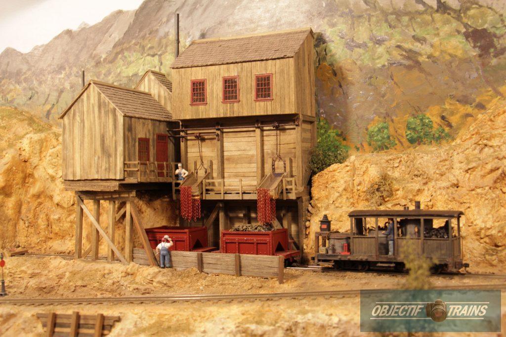 La mine de Purgatory Peak.