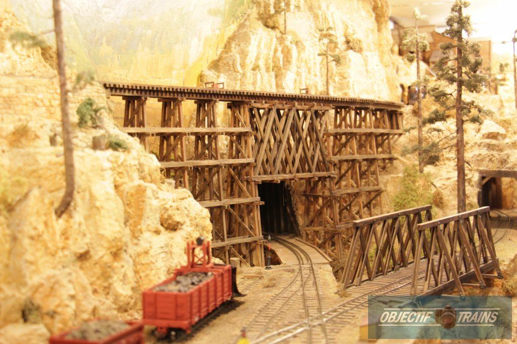 Purgatory Peak - Ponts en bois.