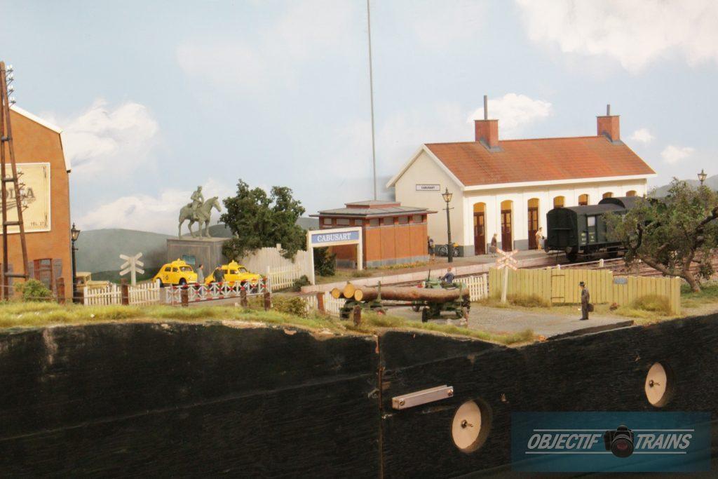 Passage a niveau - Thanasse à Cabusart