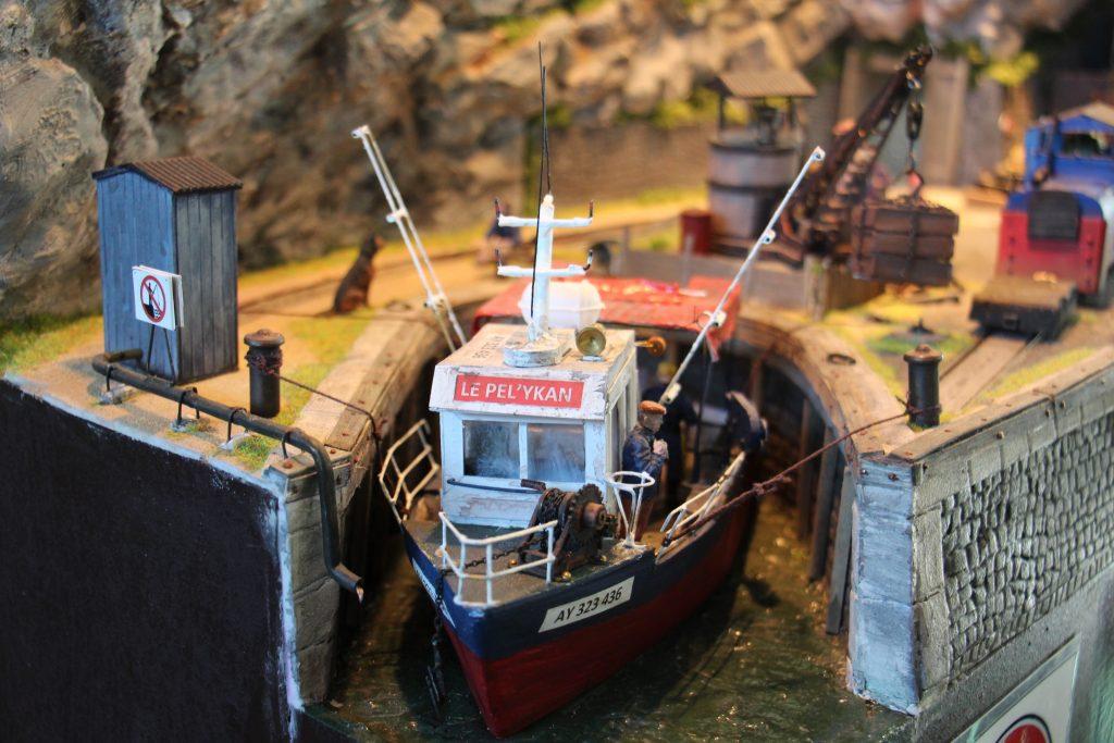 La saf'ate - Le bateau le Pel'ykan.