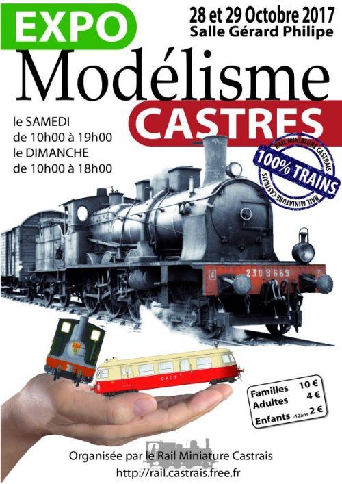 Affiche expo Castres 2017.
